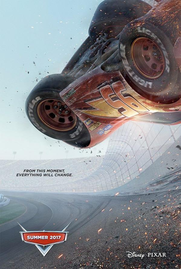 Cars 3 Teaser Poster
