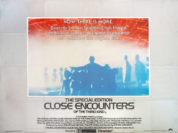Teaser For 'Close Encounters Of The Third Kind' Theatrical ...