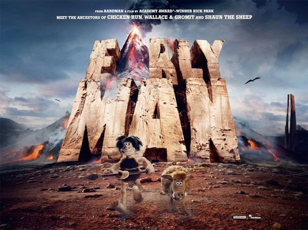 Early Man UK Teaser Poster