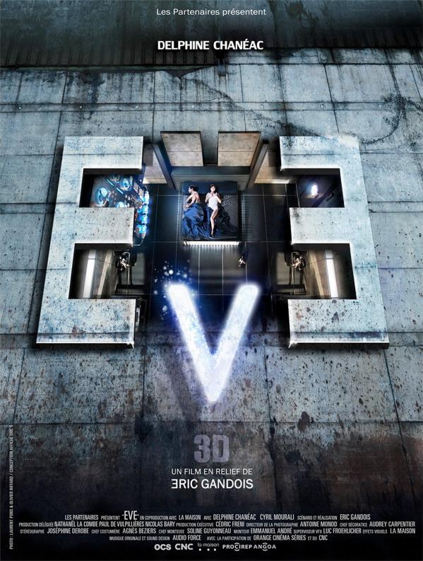 EVE 3D Short Film Poster