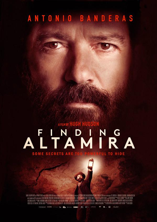 Finding Altamira Poster