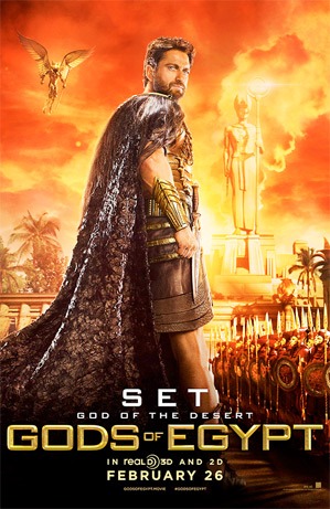 Gods of Egypt - Gerard Butler as Set