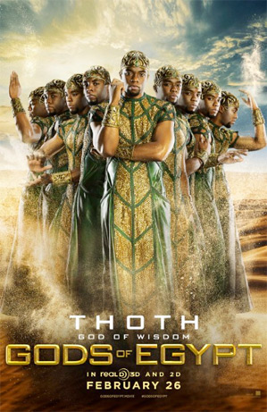 Gods of Egypt - Chadwick Boseman as Thoth