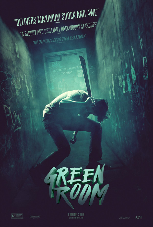 Green Room Poster