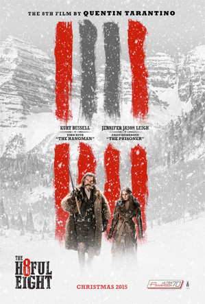 The Hateful Eight - Kurt Russell & Jennifer Jason Leigh