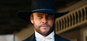 First Trailer for Gunslinger Western 'Hickok' Starring Luke Hemsworth
