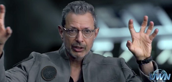 Independence Day: Resurgence Viral Video - Jeff Goldblum
