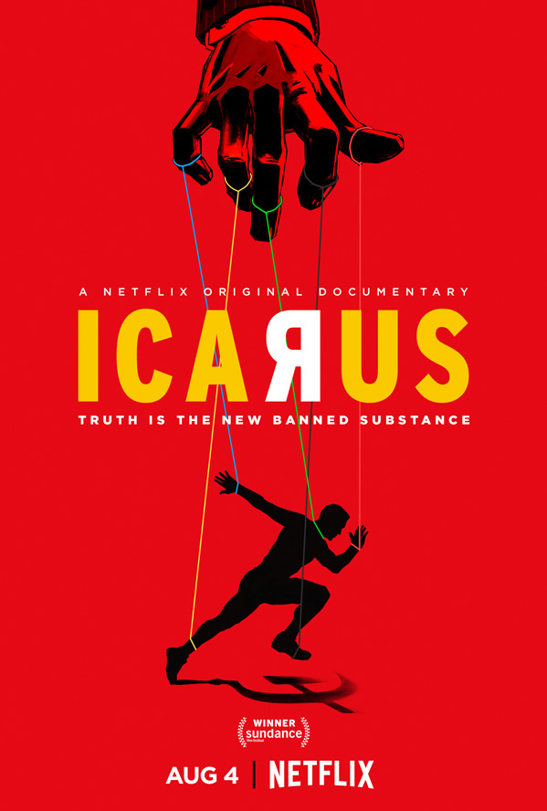 Icarus Documentary Poster