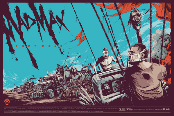 Mad Max: Fury Road Mondo - Ken Taylor