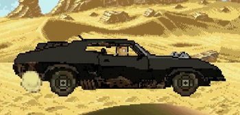 Mad Max 8-Bit Cinema