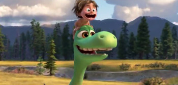 The Good Dinosaur International Trailer