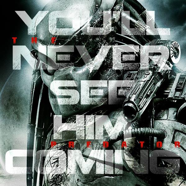 Predator - Shane Black - Teaser Poster