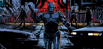 RoboCop Screen Print