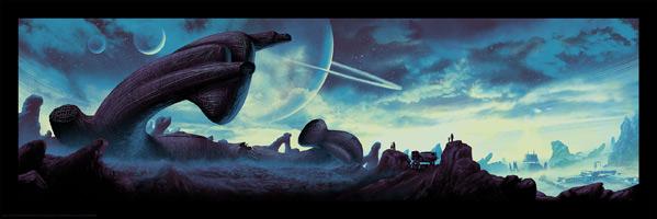 Mark Englert's Alien Day Artwork