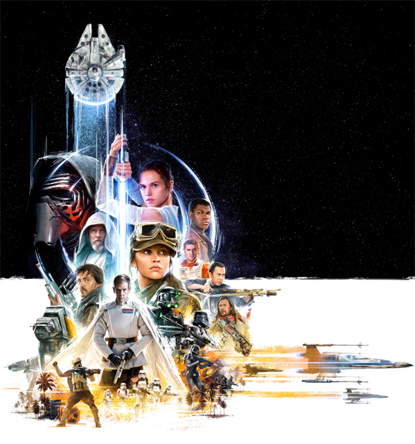 Rogue One Artwork - Celebration