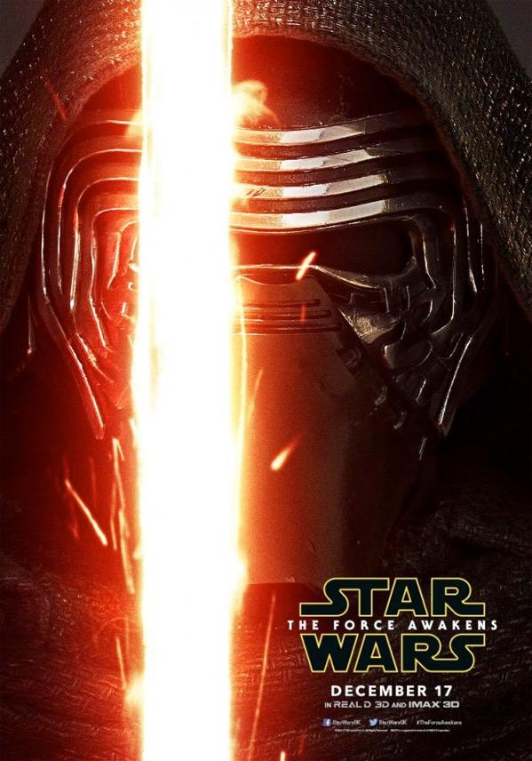 Star Wars Character Poster - Kylo Ren