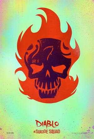 Suicide Squad Poster - Diablo