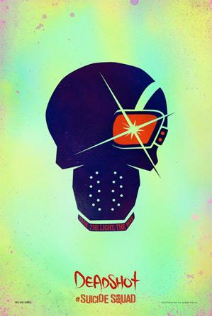 Suicide Squad Poster - Deadshot