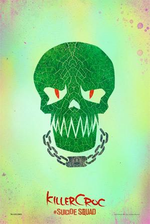 Suicide Squad Poster - Killer Croc
