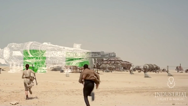 Star Wars: The Force Awakens VFX Breakdown
