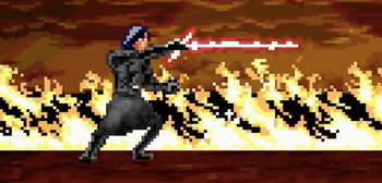 The Last Jedi 8-Bit Cinema
