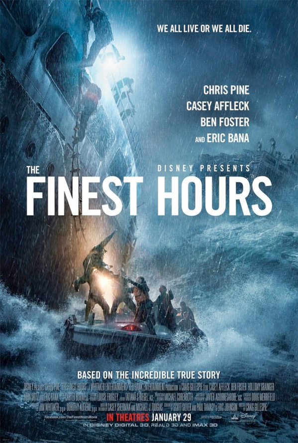 The Finest Hours Trailer