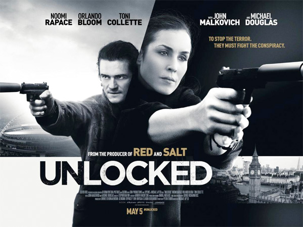 Unlocked UK Quad Poster
