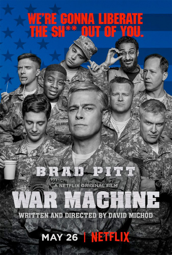 War Machine Movie Poster