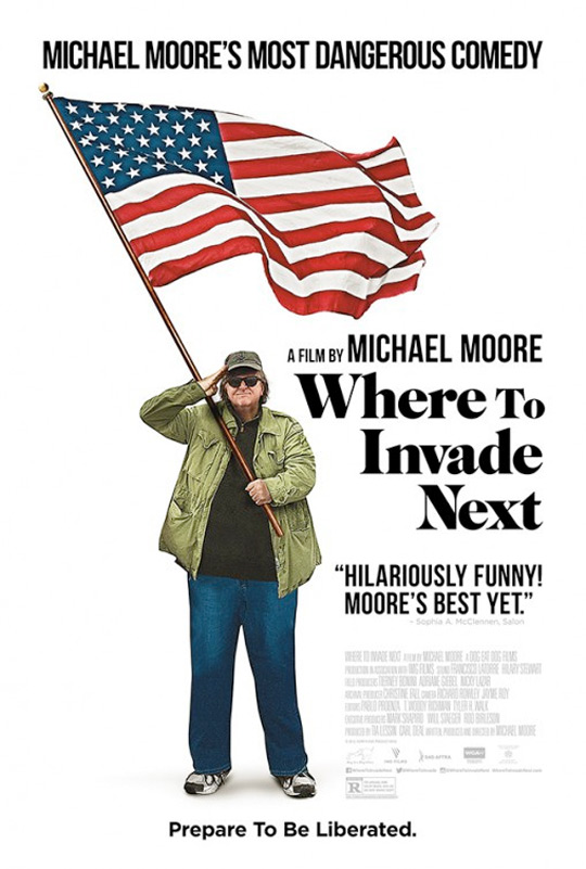 Where to Invade Next Poster