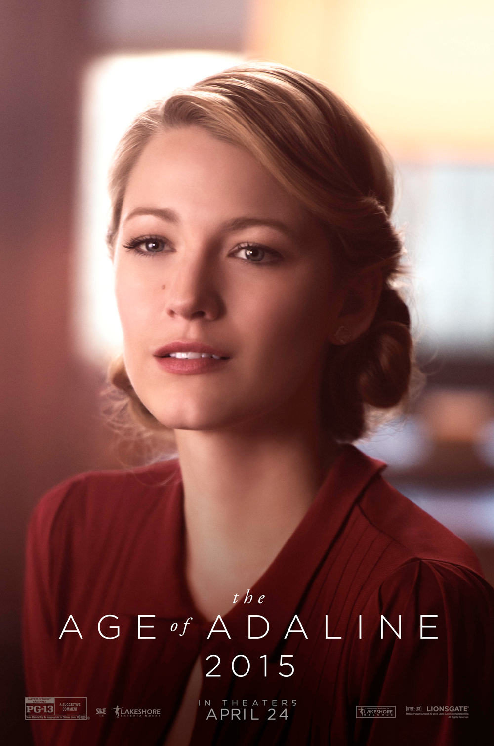'Age of Adaline' Posters Cleverly Take Blake Lively ...