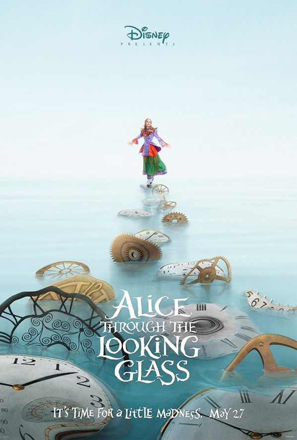 Alice Through the Looking Glass - Teaser Poster