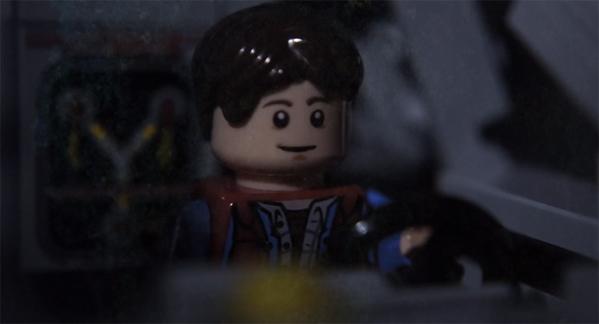 Back to the Future LEGO