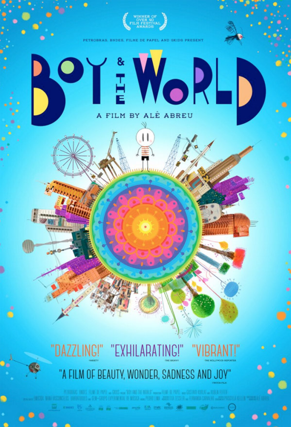 The Boy and The World Poster