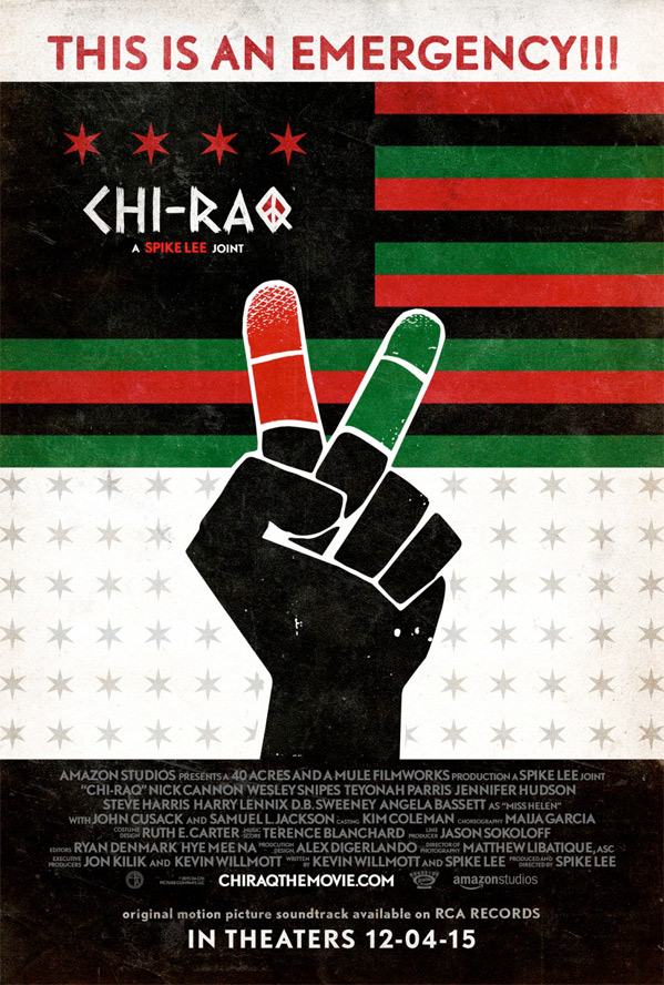 Spike Lee's Chi-Raq Poster