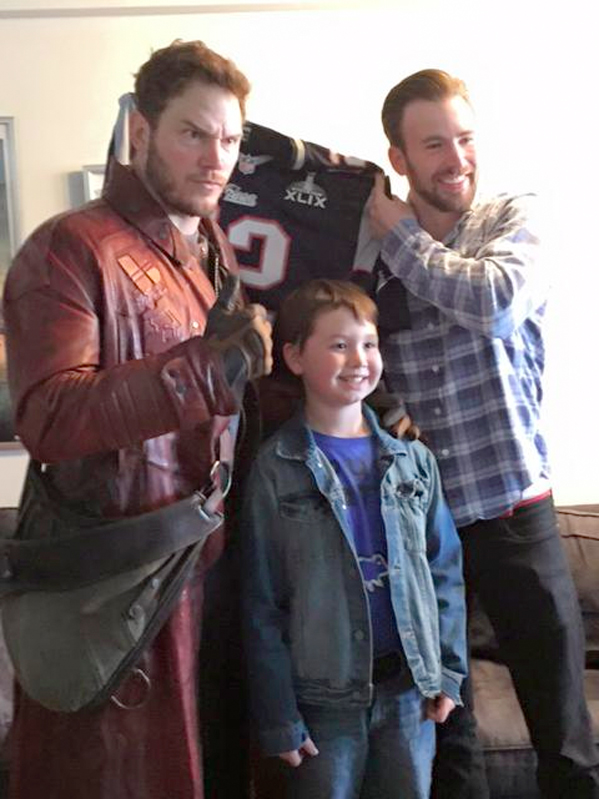 Chris Pratt Super Bowl Charity