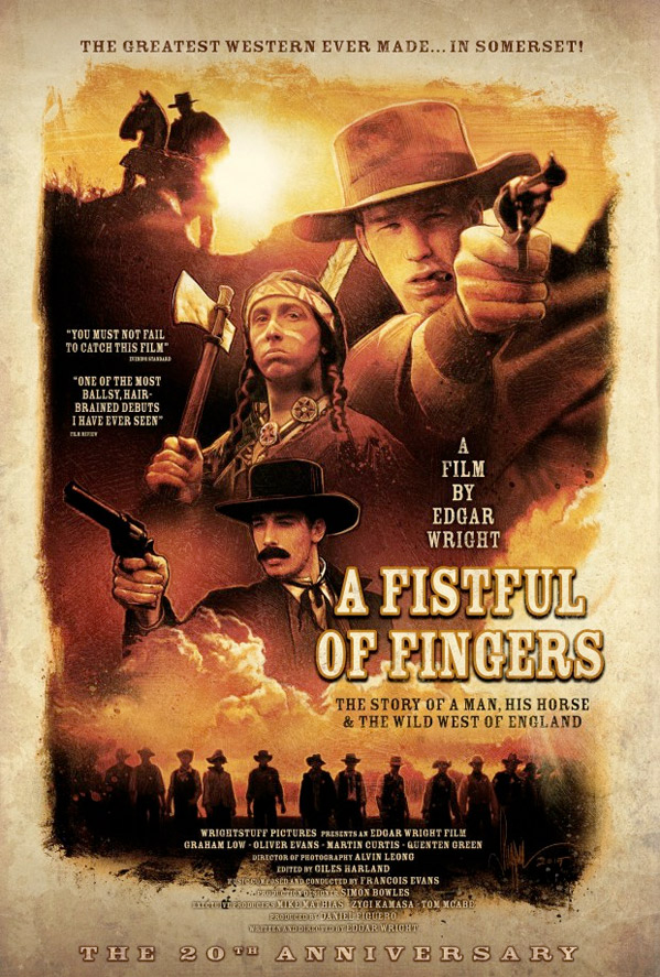 Fistful of Fingers Poster