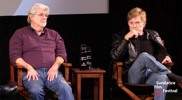George Lucas & Robert Redford