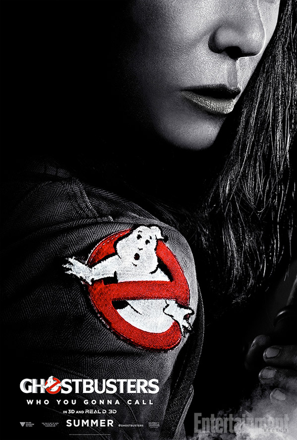 Ghostbusters Poster - Kristen Wiig as Erin Gilbert