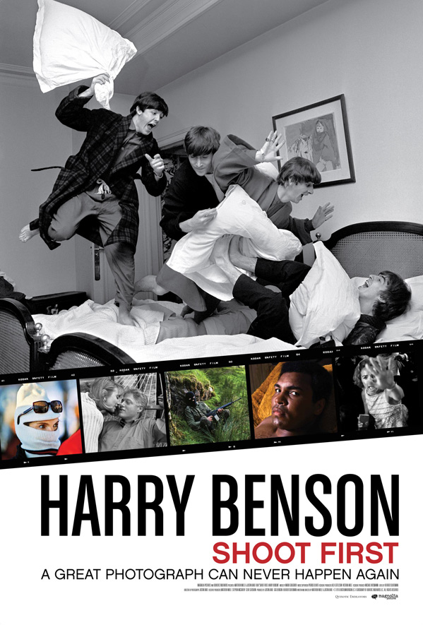 Harry Benson: Shoot First Poster