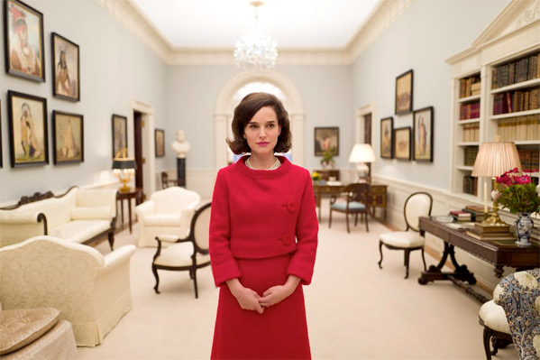 Natalie Portman as Jacqueline Kennedy