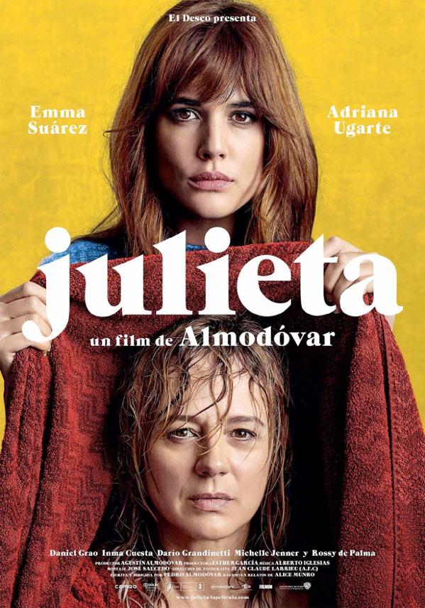 Pedro Almodóvar's Julieta Poster