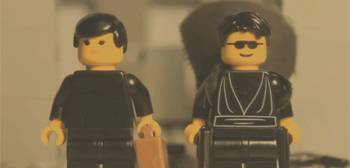 The Matrix LEGO