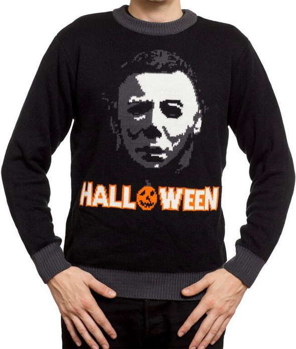Horror Sweaters - Halloween Knit Sweater