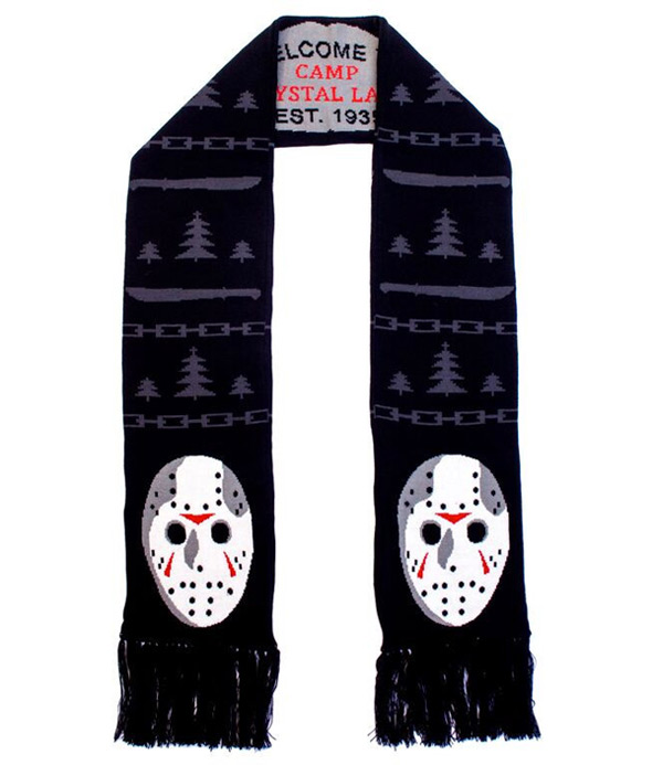 Horror Sweaters - Friday the 13th Scarf