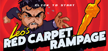 Play This: Crazy 8-Bit Online Video Game 'Leo's Red Carpet Rampage'