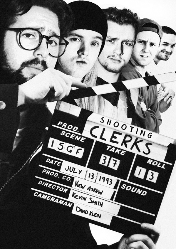 Shooting Clerks Poster