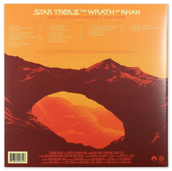 Matt Taylor - The Wrath of Khan Vinyl Release - Mondo