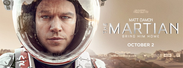Ridley Scott's 'The Martian' with Matt Damon - Thoughts?