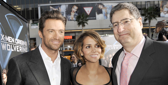 Hugh Jackman, Halle Berry, Tom Rothman