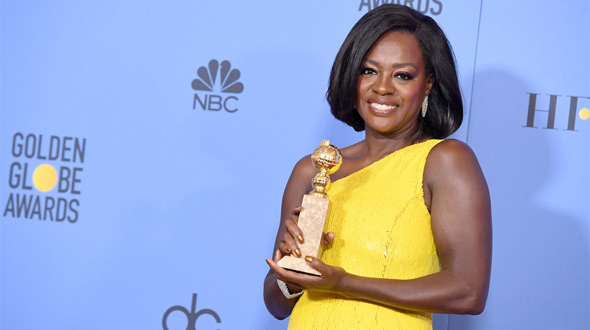 Viola Davis - Golden Globe Winner